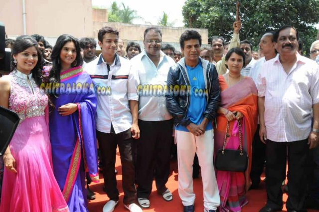 Aryan Movie Launch Image