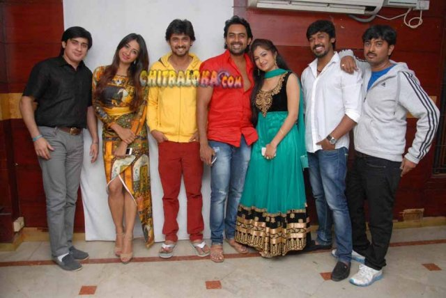 Bangalore 560023 Movie Pressmeet Gallery