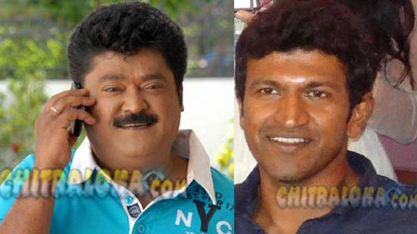 jaggesh, puneeth rajkumar image