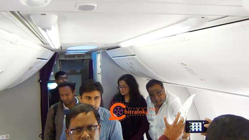 ambareesh and sumalatha in malaysia flight
