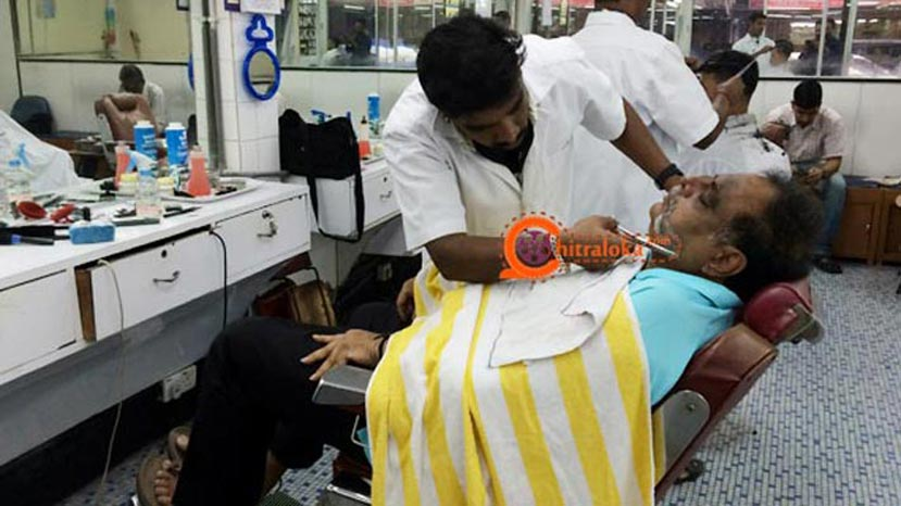 ambareesh in barber shop in malaysia