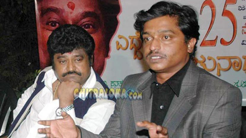 jaggesh, sanathkumar during eddelu manjunath launch