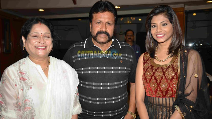 b c patil family