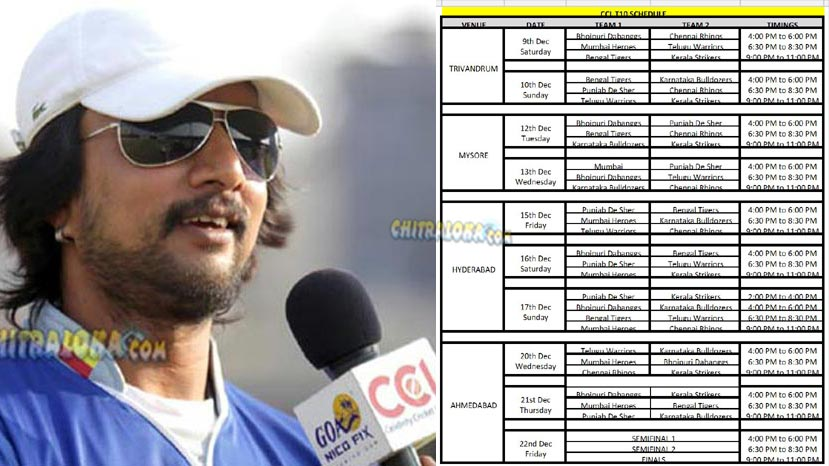 ccl schedules