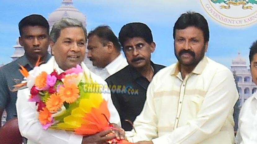 cm siddaramaiah to watch happy new year