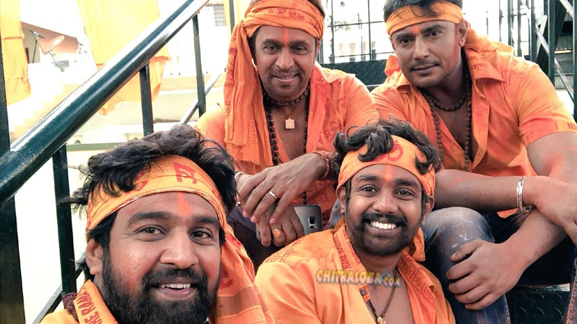 darshan and sarja's team up