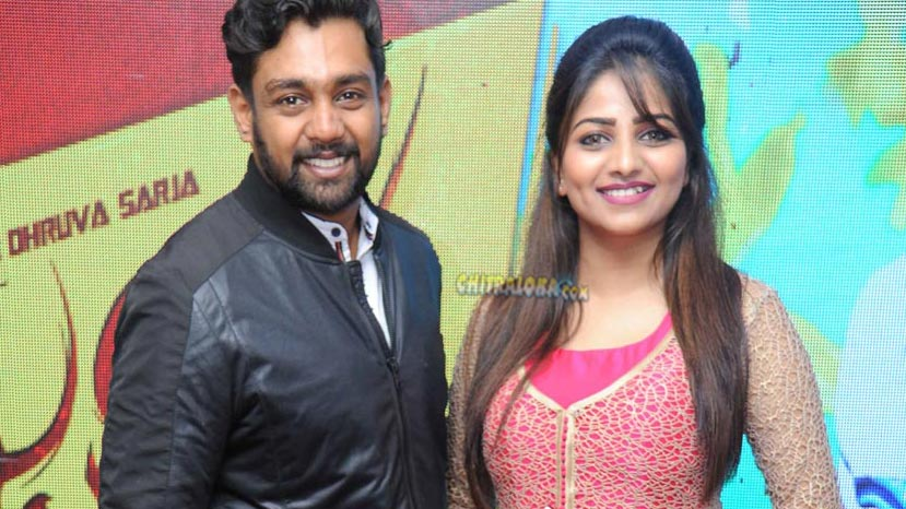 dhruva sarja and rachitha ram love story