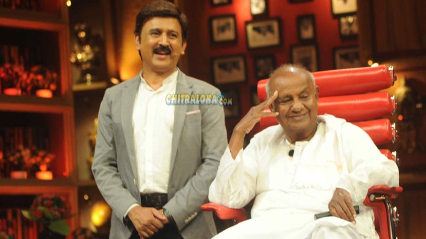 hd devegowda weekend with ramesh