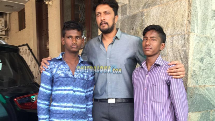 sudeep fans who attempted suicide