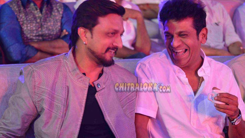 sudeep, shivarajkumar in the villain
