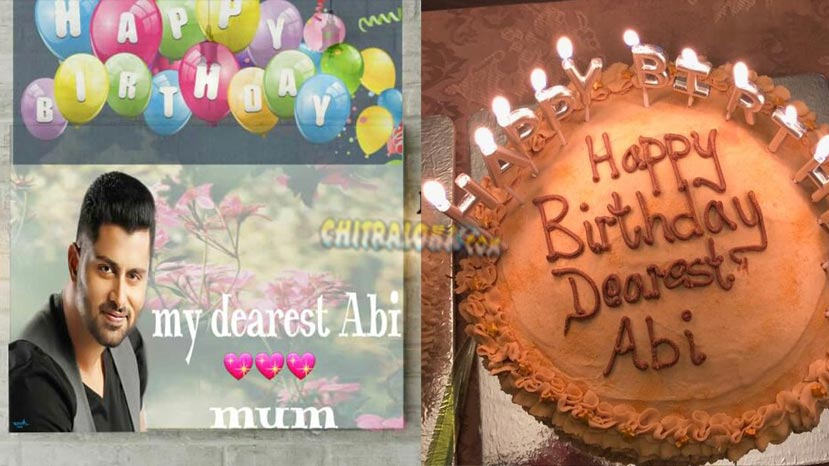 sumalatha wishes son abishek on birthday