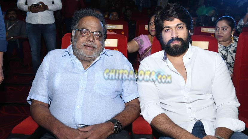 yash remembers ambareesh before kgf release