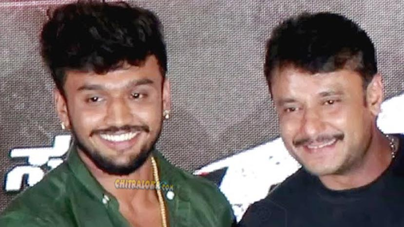 darshan releases the songs of bazaar