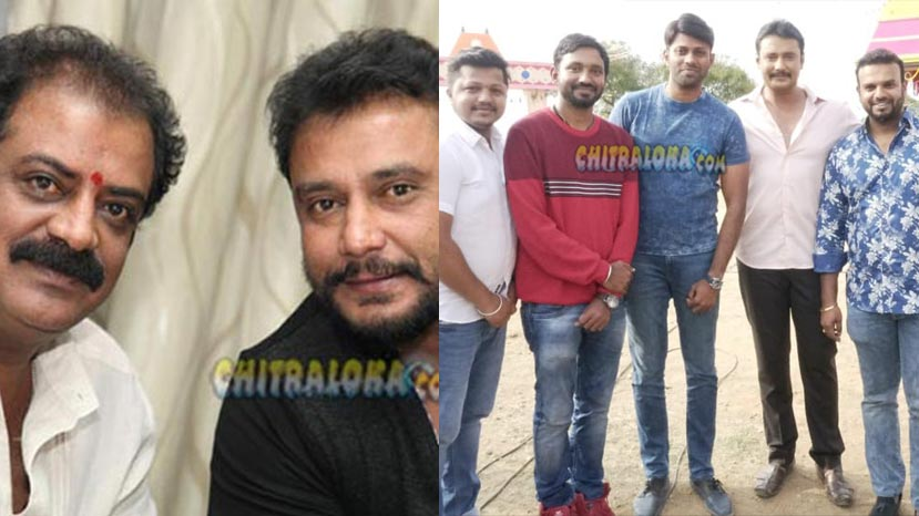 darshan to present madagaja title to srimurali on his borthday