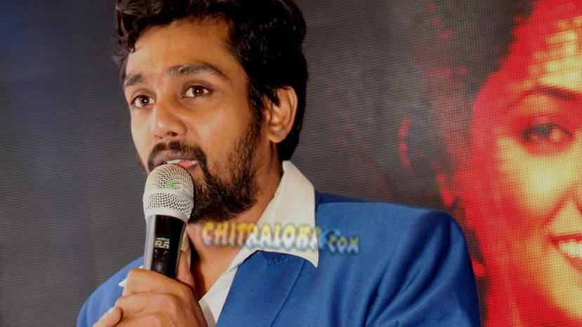 dhruva sarja meets with an accident