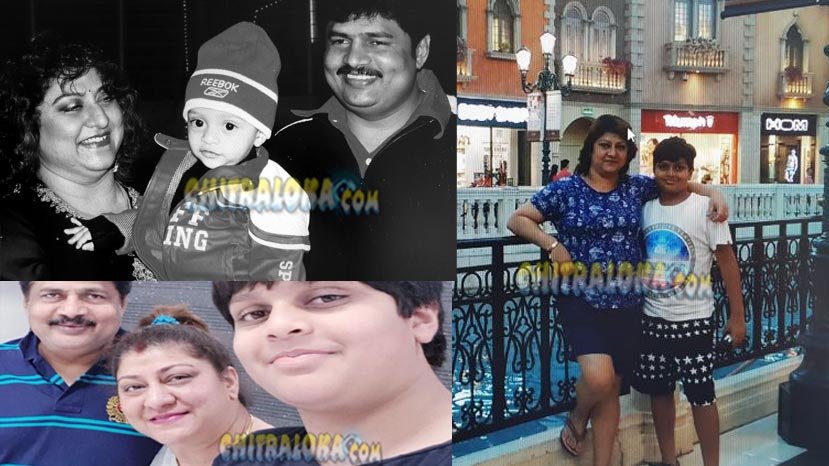 malashree shares pictures of her son