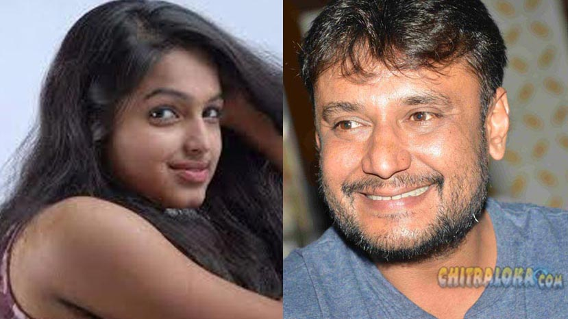 nayana will act with darshan