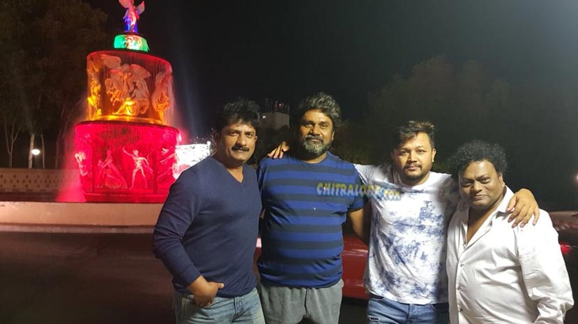 orange team back from ramoji film city
