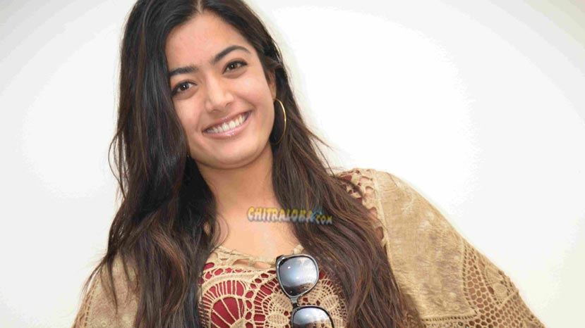 rashmika to act with star