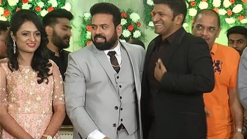 director santhosh anandram wedding photo