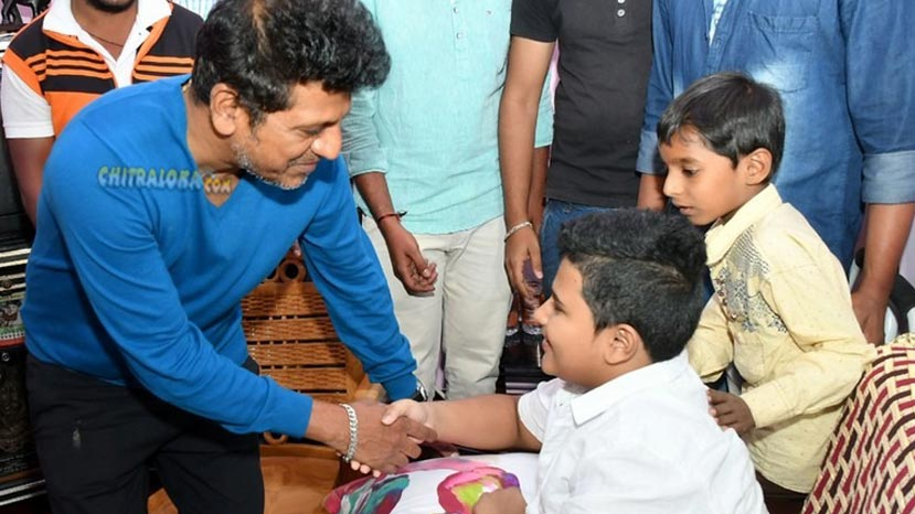 shivanna meets his fan
