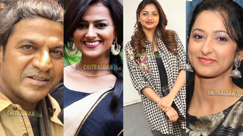 three beauties to shake leg with shivanna
