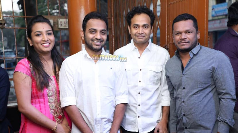 sharan hruday;s new movie launched