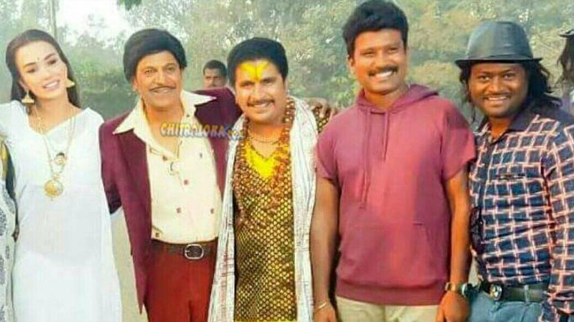 shivanna's getup in the villain