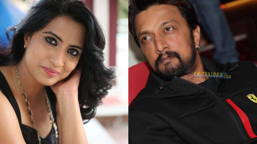 triveni rao to act with sudeep?