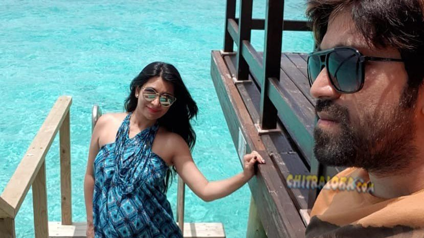yash and radhika pandit o their babymoon