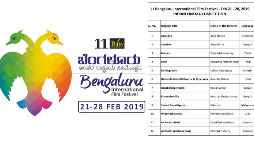 16 kannada films selected for bffes 2019