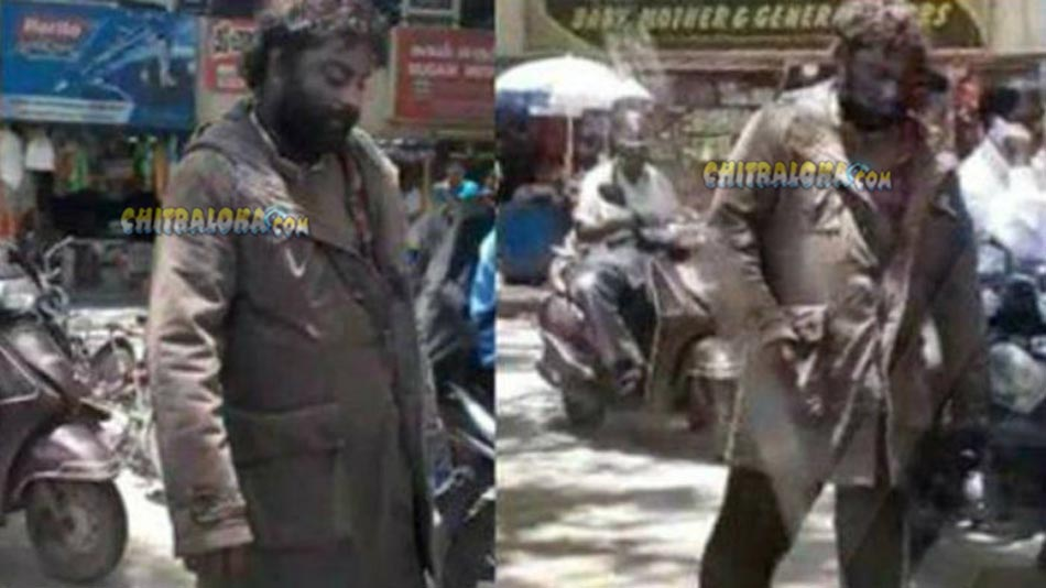 huccha venkat roams around chennai streets