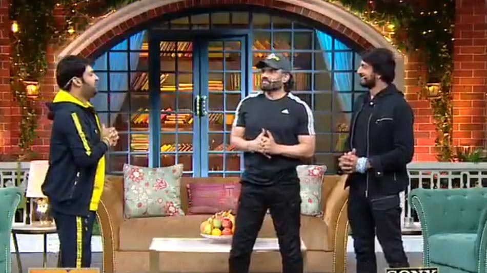 sudeep in kapil sharma show