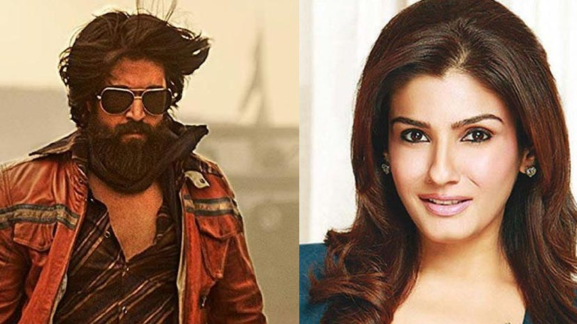 raveena tandon talks about her role in kgf chapter 2