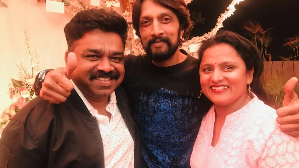 sudeep is the ultimate power who stood with us says swapna krishna