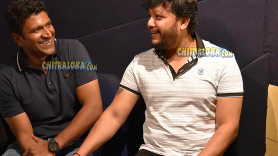 puneeth sings a song for ganesh's geetha