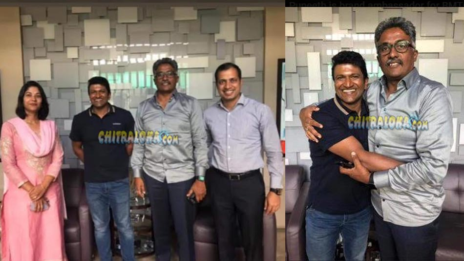 puneeth rajkumar is the brand ambassador for bmtc's priority bus lane concept