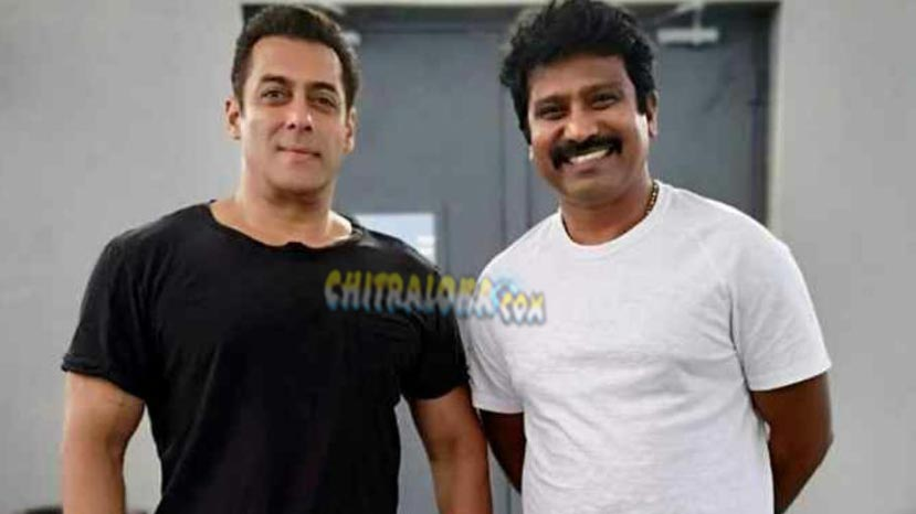 jogi prem meets salman khan on dabang  sets