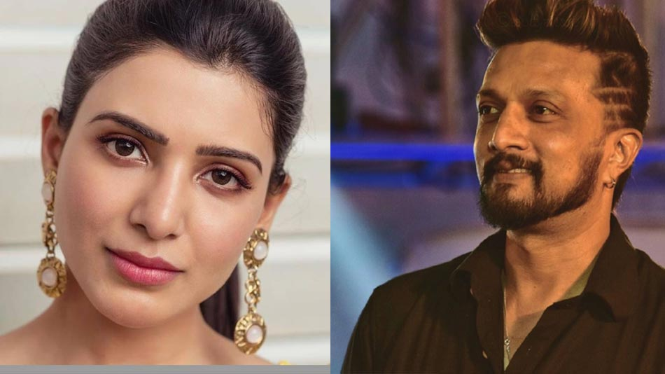 will samantha act in sudeep'a phantom