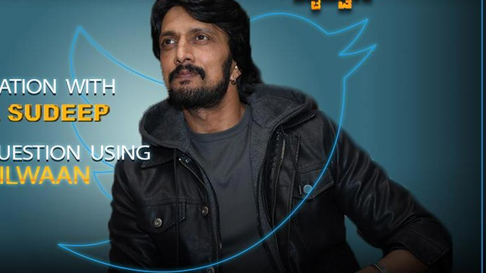 stars asks, sudeep reacts, ask pailwan