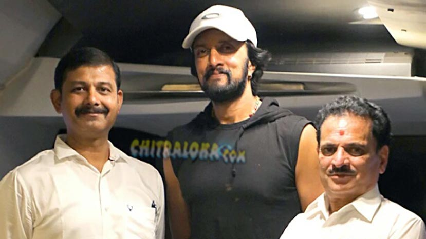 sudeep dubs for desai's udgarsha trailer