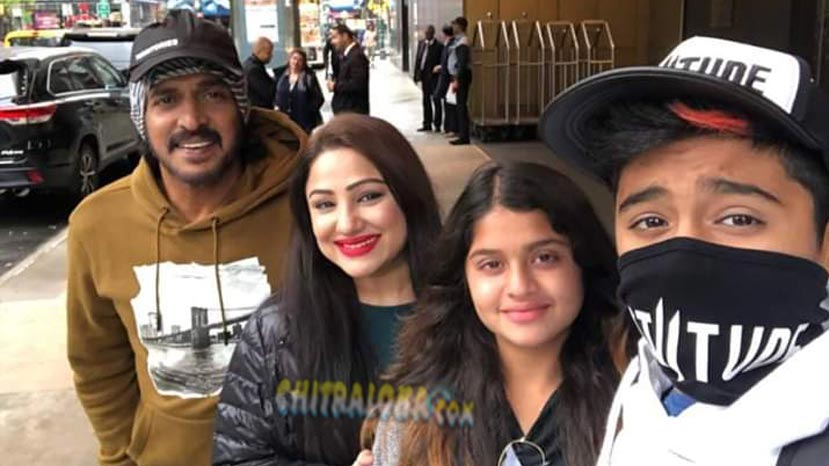 upendra in north america for vacations