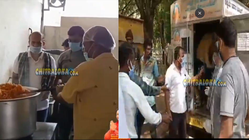 darshan's fans help people in distres