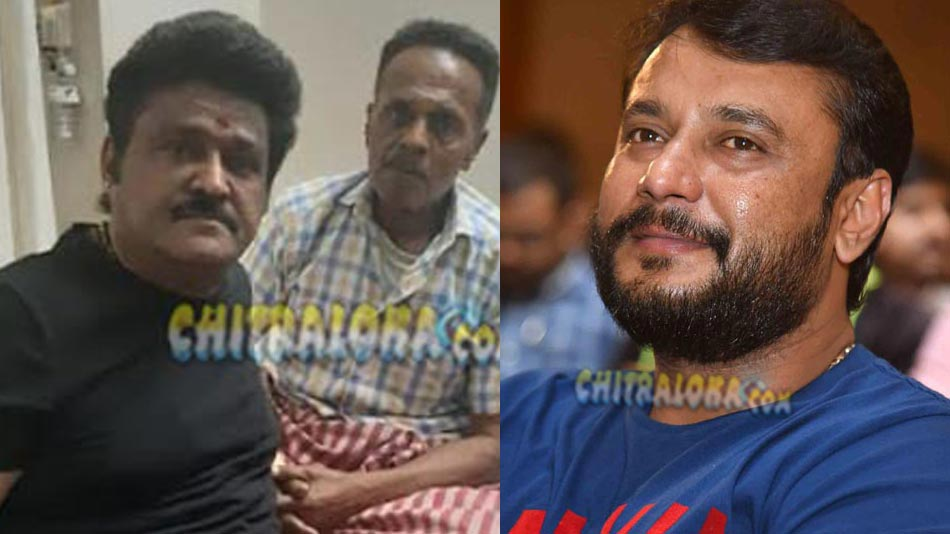 darshan comes forward to support of killer venkatesh