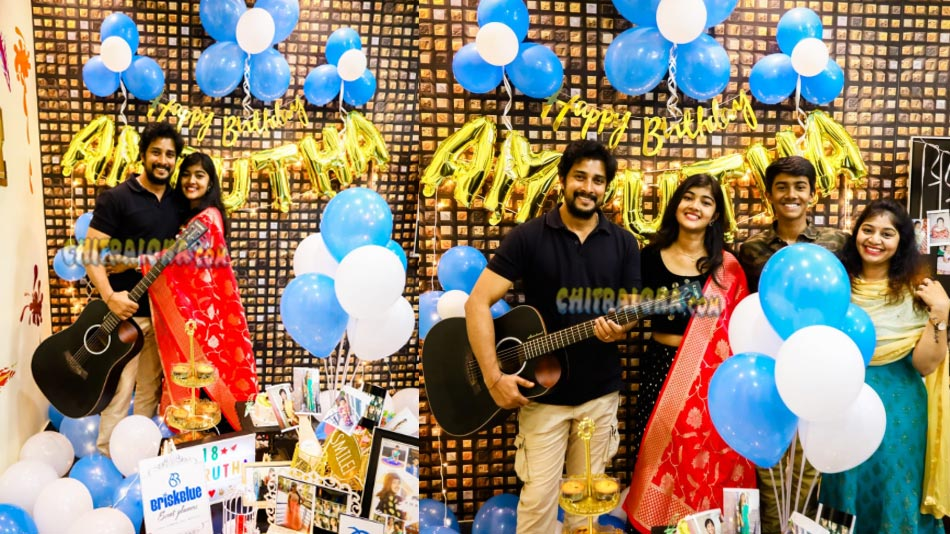 nenapirali prem celebrates his daughter's birthday