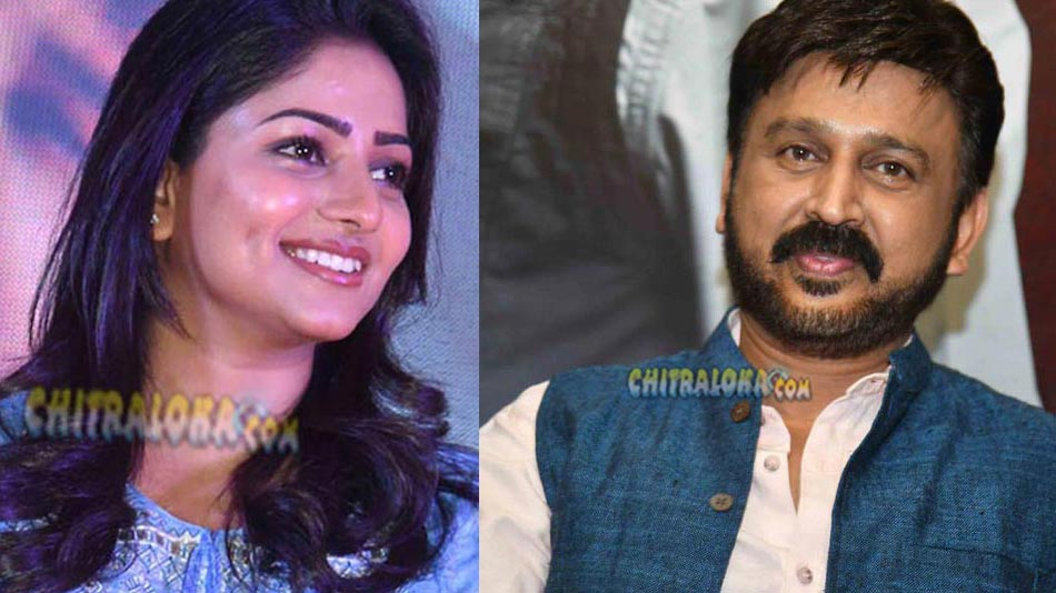 dimple queen plays sister to ramesh aravind in 100