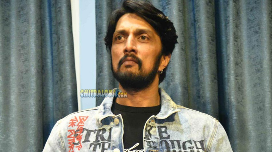 Sudeep Thanks Media For The Support Over The Years