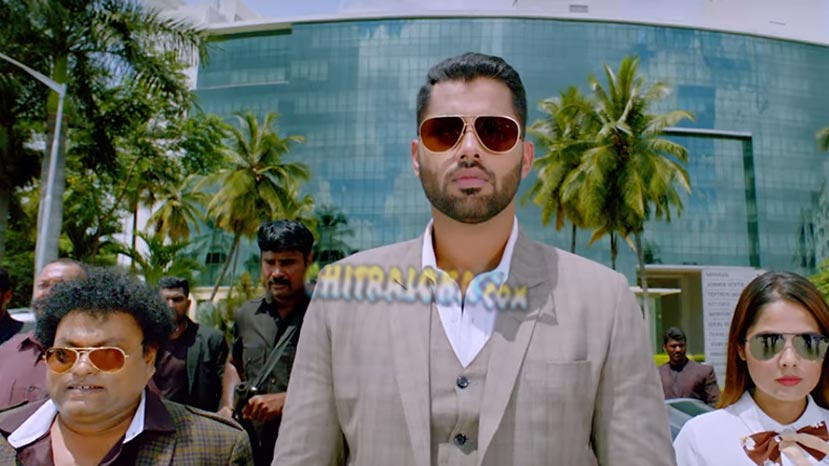 abishek ambareesh's mega mass entry