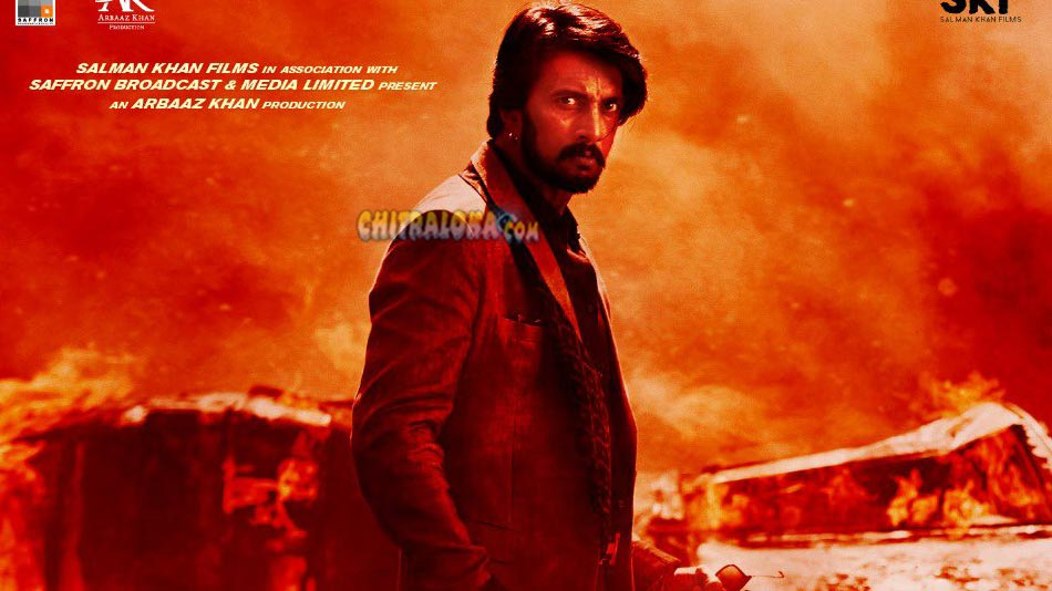 sudeep plays the role of balli singh in dabangg 3