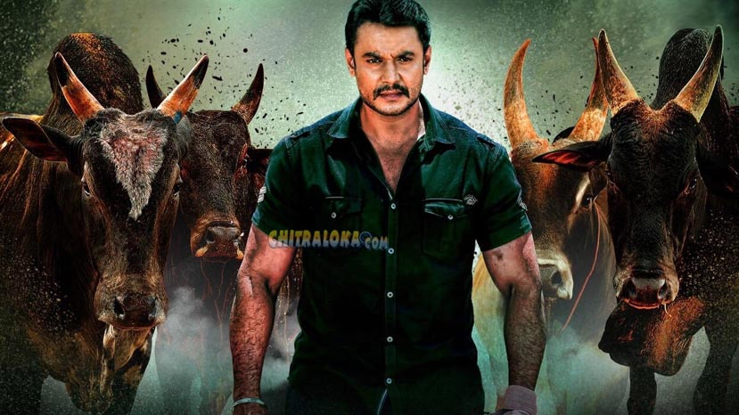 darshan completes yajamana shooting